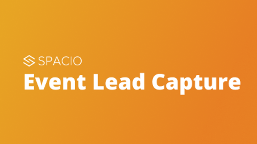 Demo and training: Spacio's new features for capturing qualified leads from any event