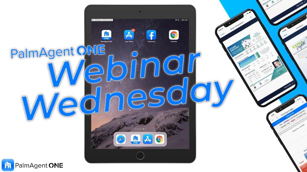 PalmAgent Webinar Wednesday