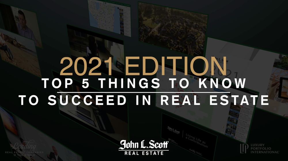 Top 5 Things for Success in Real Estate - 2021 Edition with Jeff Cohen