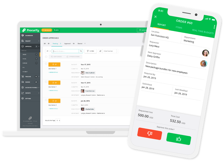 Procurify Product Demo: The Purchasing Solution For Modern Organizations