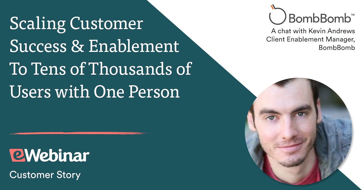 Scaling Customer Success to Tens of Thousands of Agents Without EVER Hosting Live