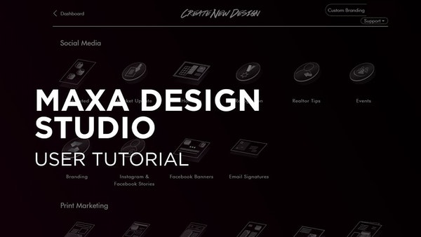 Intero Tools - MAXA Design Studio User Tutorial