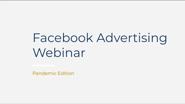 Facebook Advertising Webinar